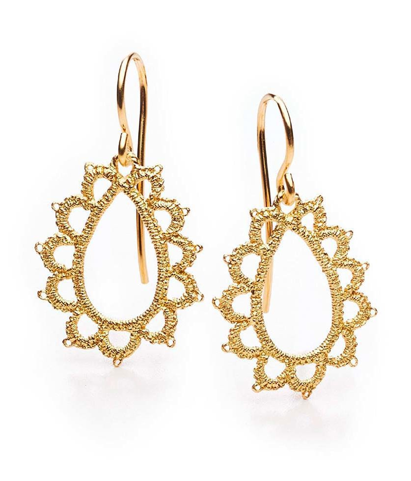 Ohrringe Hochzeit Gold