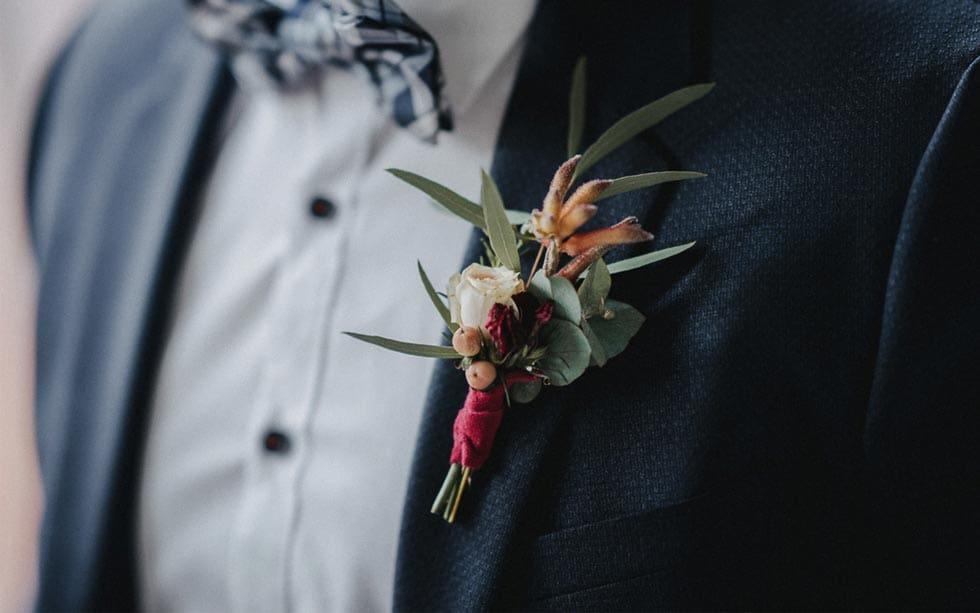 Anstecker Hochzeit