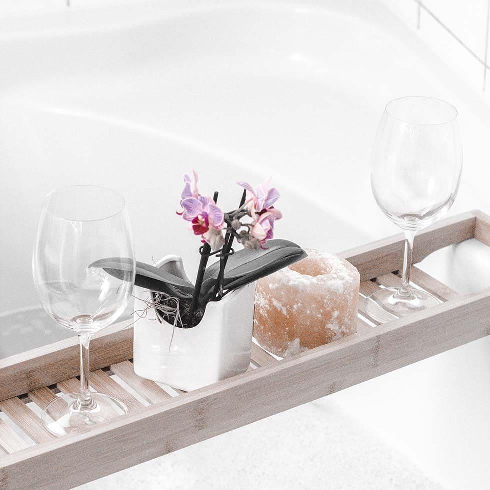 Entspannung-Badesalz selber machen