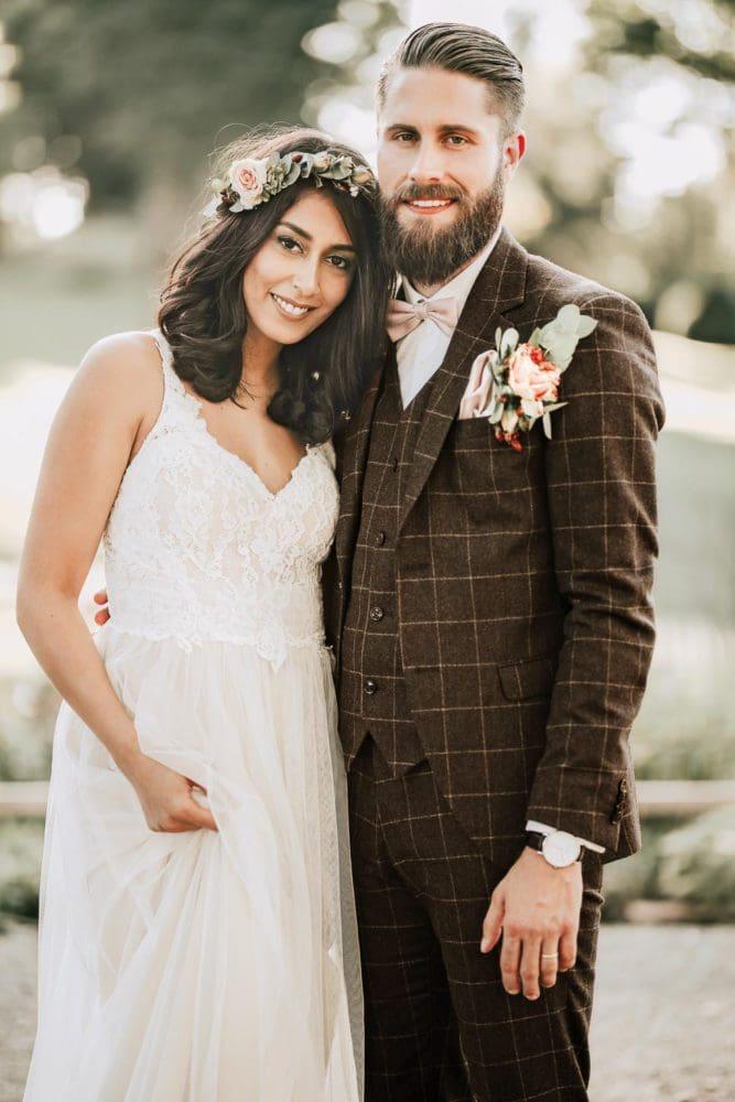 Hochzeitsanzug Braun