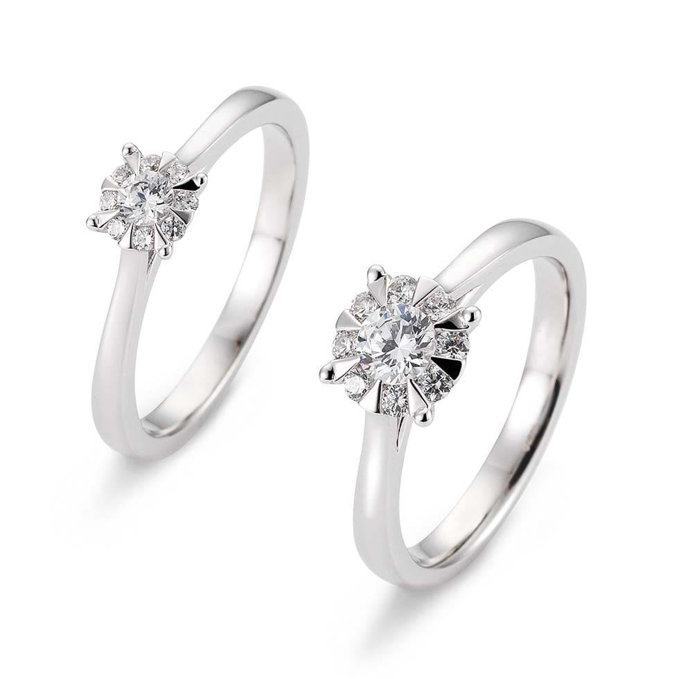 Verlobungsringe Bouquet-Ring