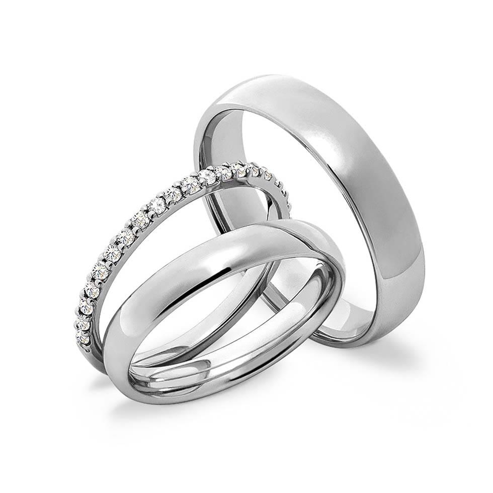 Verlobungsring mit Ehering