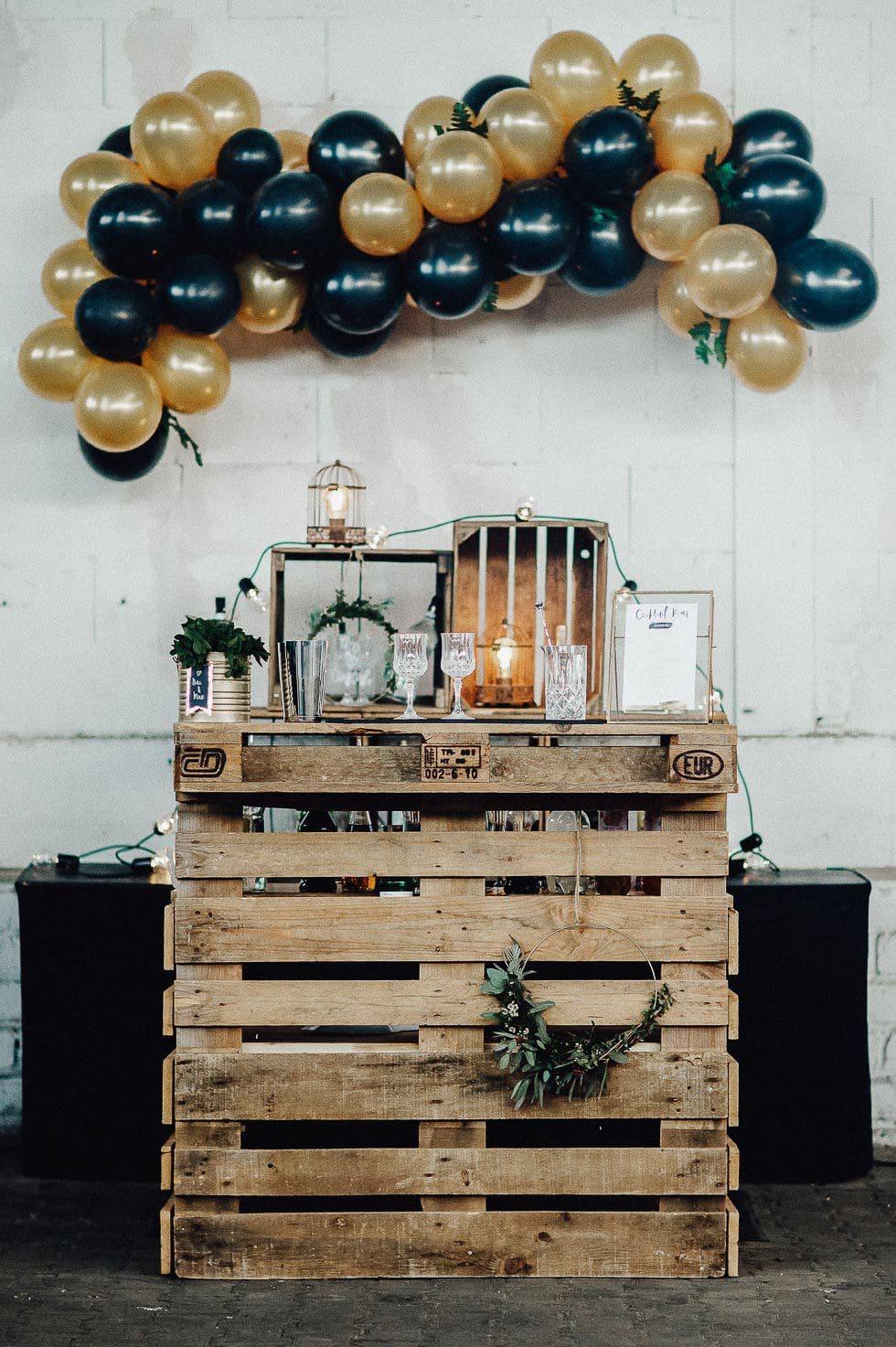 Cocktailbar Hochzeit