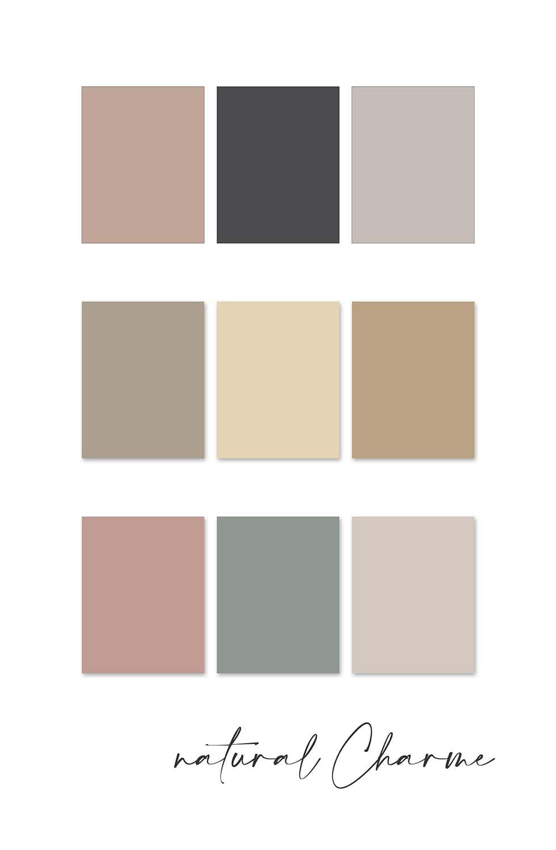 Farbkonzept Hochzeit neutral