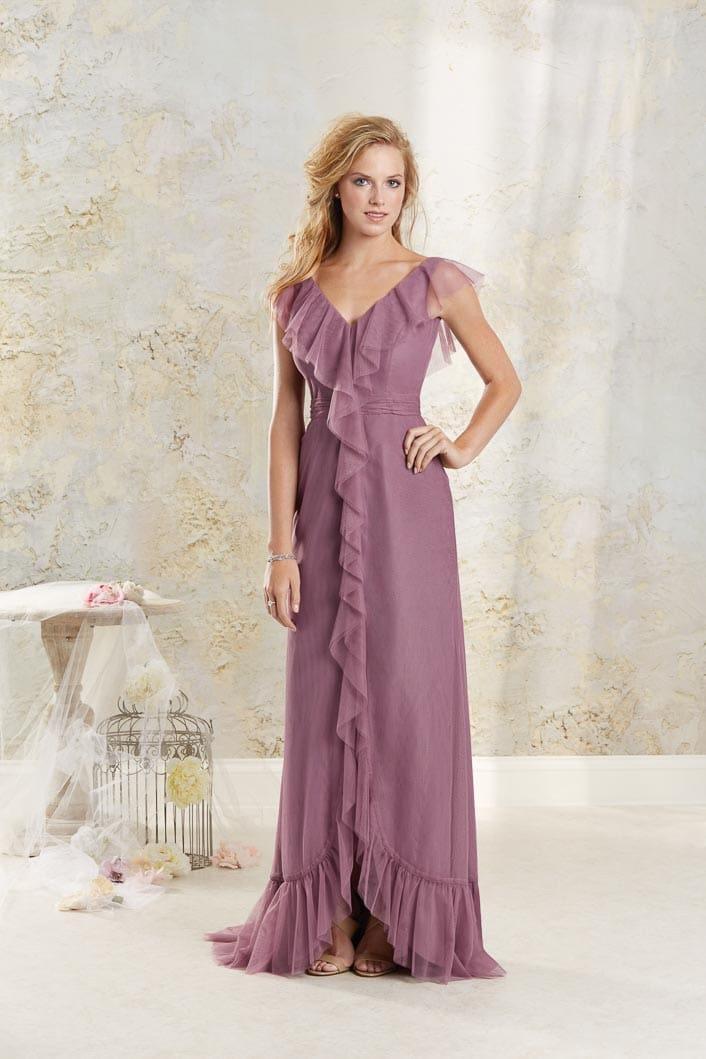 Brautjungfernkleid Veilchen