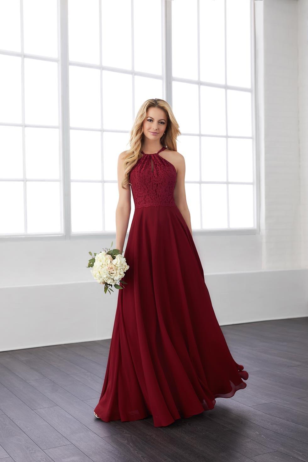 Brautjungfernkleid Rot