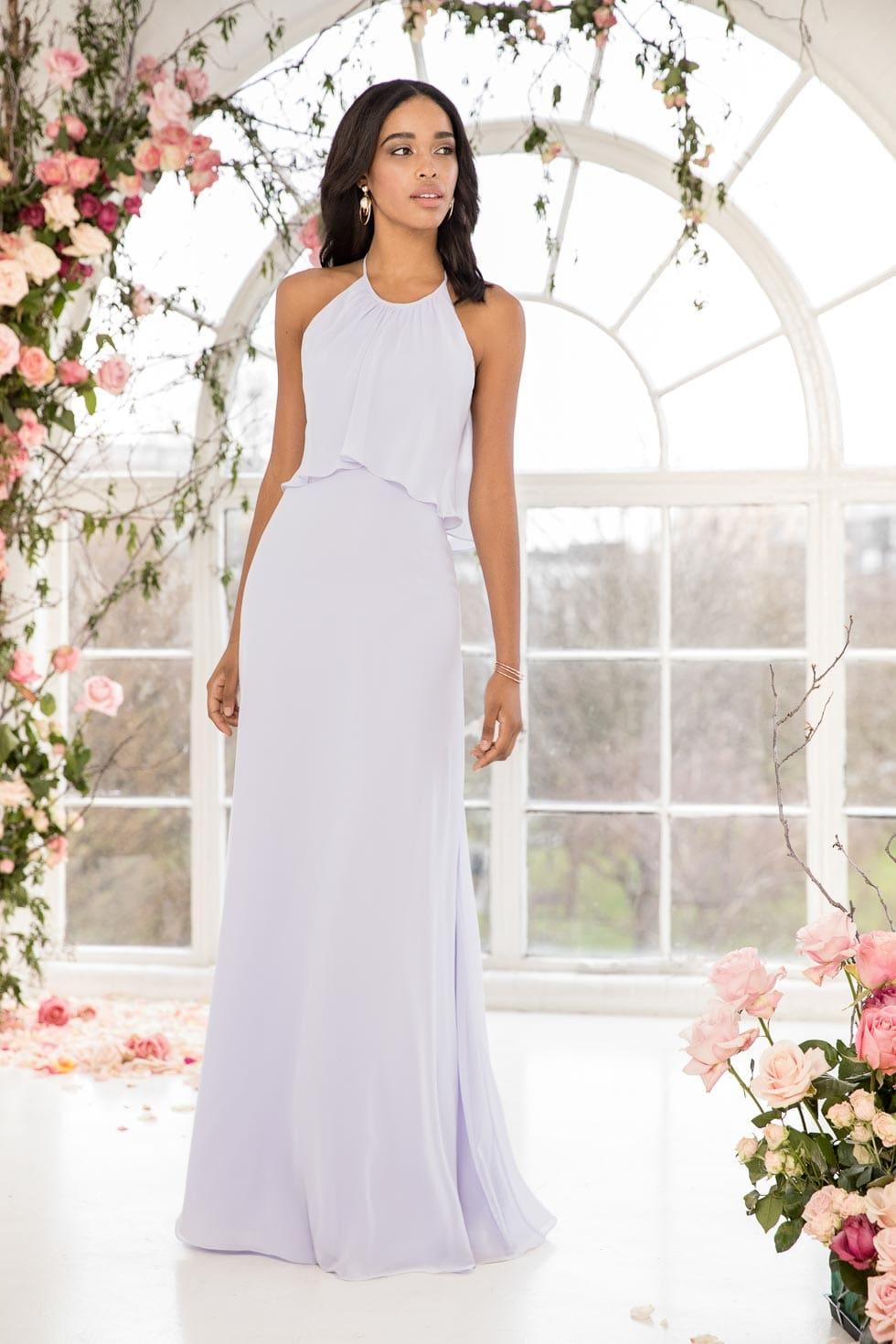 Brautjungfernkleid Hellblau