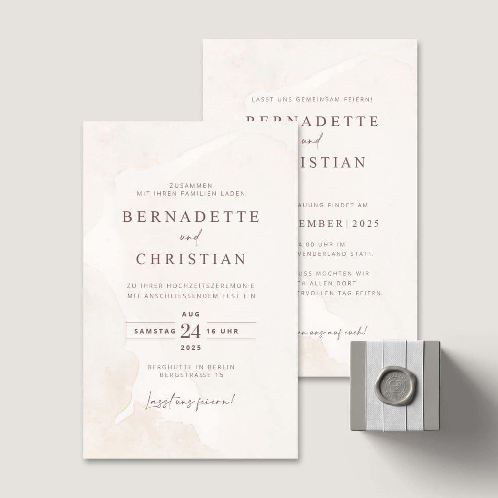 Einladung Hochzeit