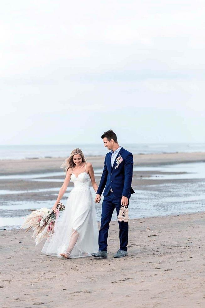 Hochzeitsfoto Strand