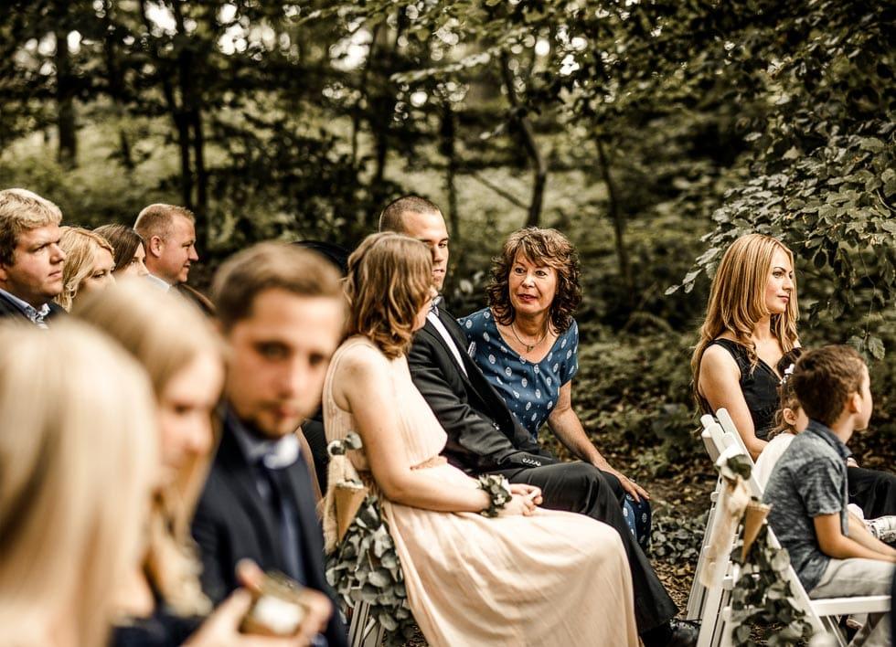 Trauung Hochzeitsgäste