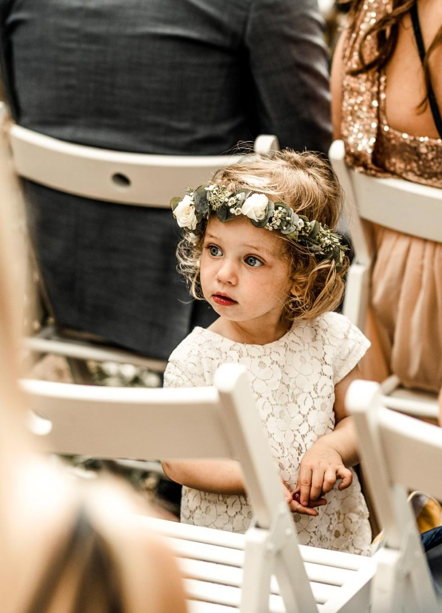 Blumenkind Hochzeit
