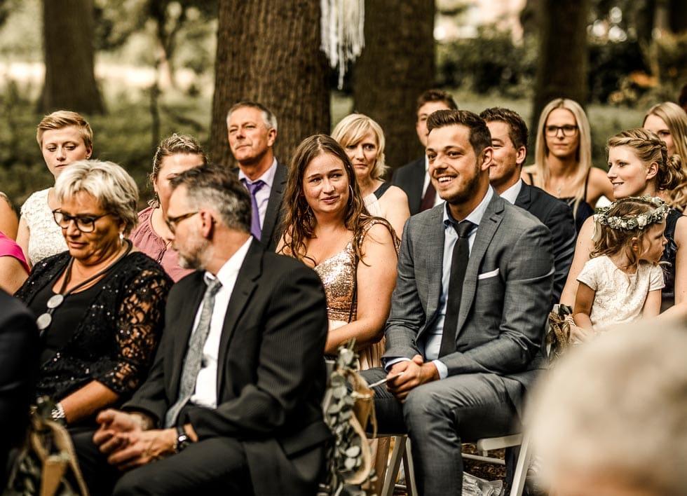 Hochzeitsgäste Trauung