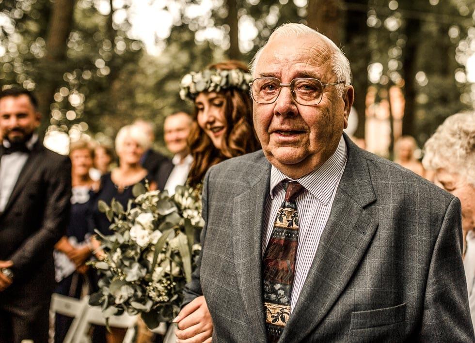 Einzug Hochzeit Opa