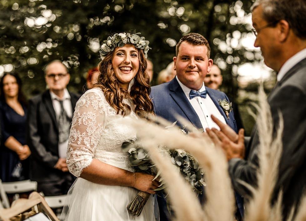 Brautpaar Trauung Boho