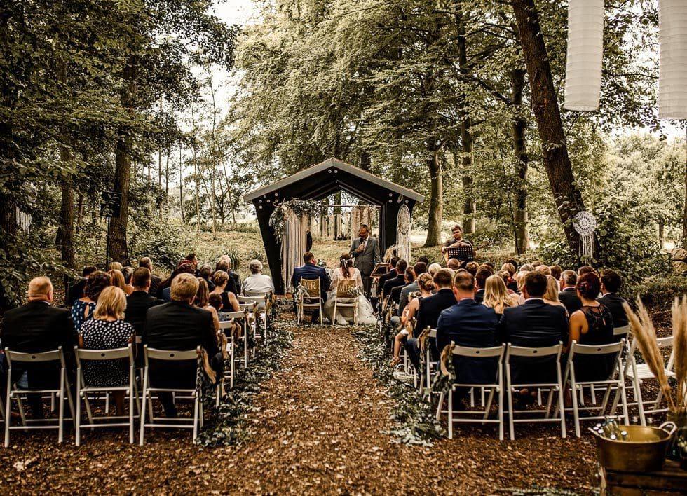 Hochzeit Wald Boho