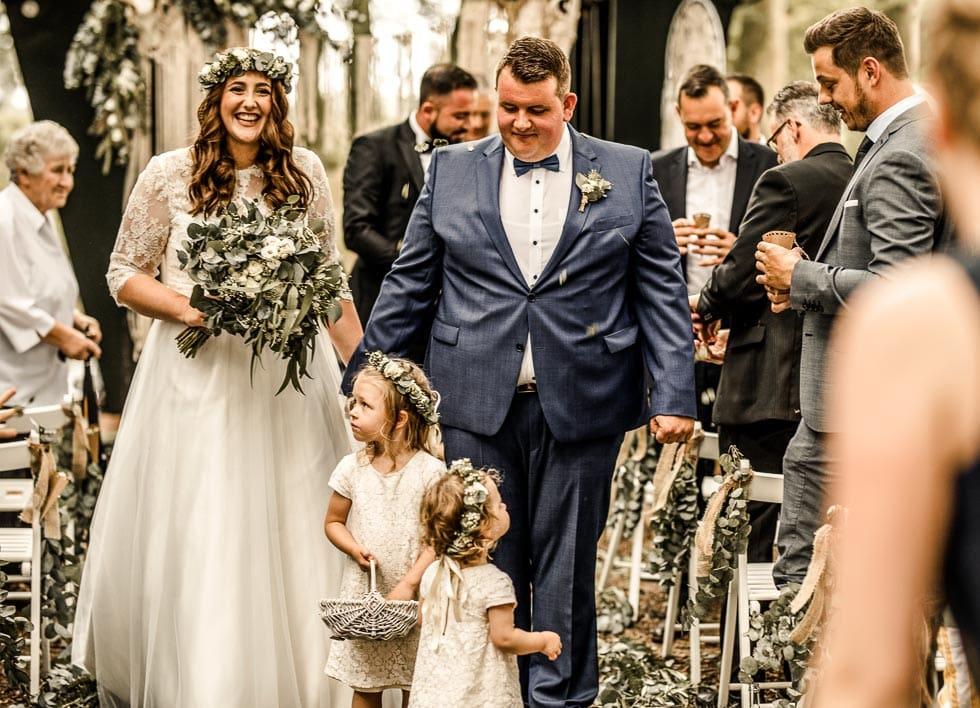 Auszug Hochzeit