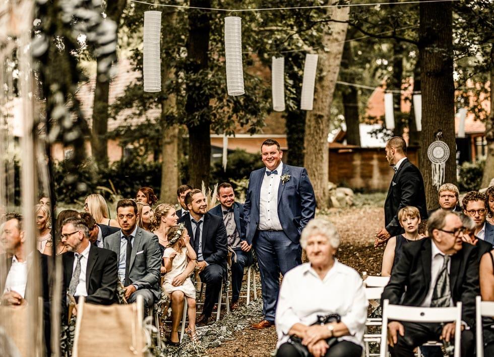 Boho Hochzeit Trauung