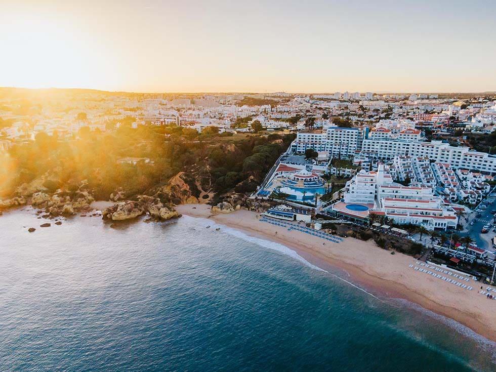 Flitterwochen Algarve