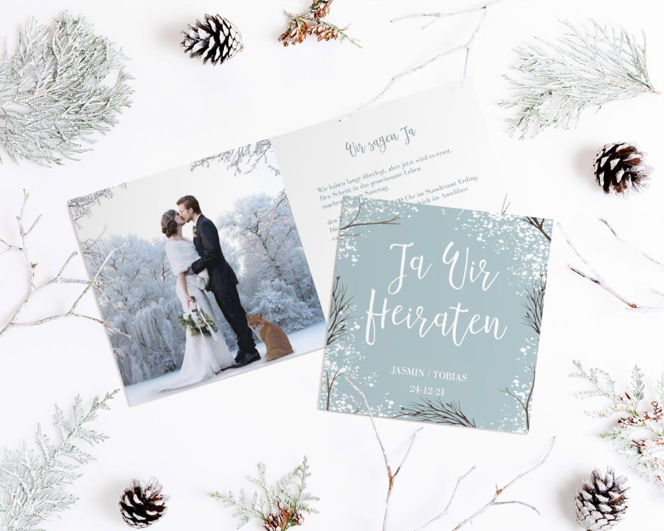 Einladung Hochzeit Kartenparadies