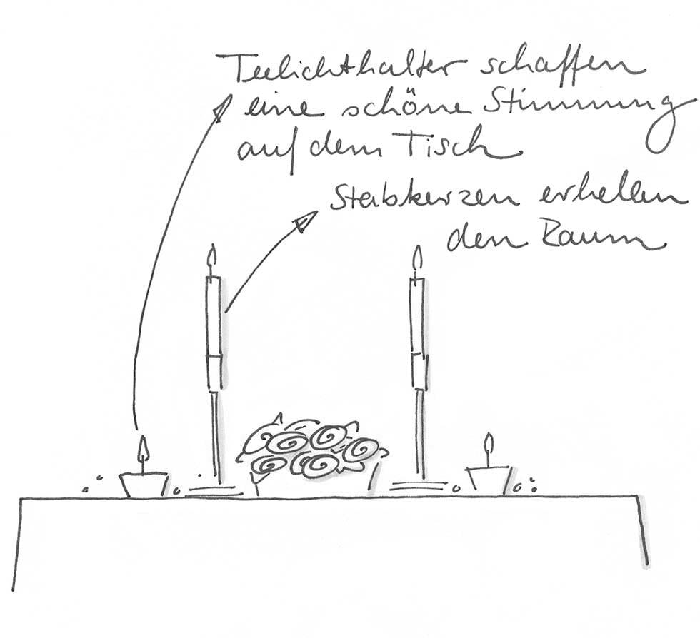 Tischdeko selber machen